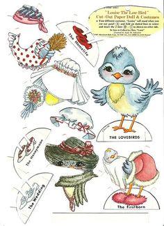 Louise the Love Bird ..............   ................................♥...Nims...♥