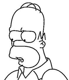 Coloriage Dessins. Les Simpsons 44