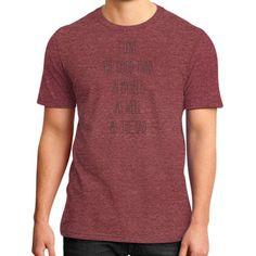 I love my self District T-Shirt (on man)
