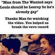 BAMMM.<<< the funny thing thing is Max most likely doesn't even have a girlfriend or a girl that loves or even likes him besides his mom when Louis has been dating Elounor