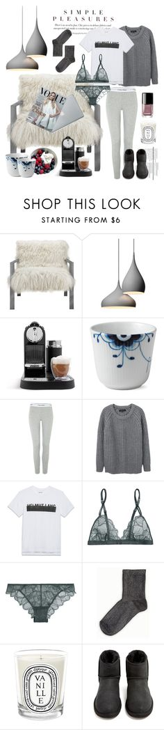 """..."" by smillahertz ❤ liked on Polyvore featuring interior, interiors, interior design, home, home decor, interior decorating, Nespresso, Royal Copenhagen, Calvin Klein and rag & bone"