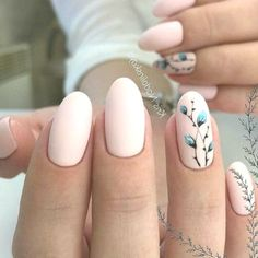 TOP 20 very gentle and sophisticated manicure. Aztec Nail Designs, Manicure Nail Designs, Simple Nail Art Designs, Nail Manicure, Sugar Skull Nails, Skull Nail Art, Glitter Nail Art, Ongles Rose Pastel, Pastel Pink Nails