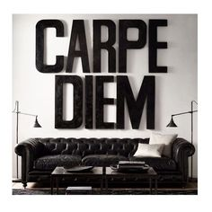 What a beautiful day! Are you ready to seize it?   www.letshed.co.uk   #create #motivate #inspire #carpediem #seize #black #bold #font #lettering #passion #business #interiordesign #interiors #decor #style #homeinspo #homeinspiration #designinspo #designinspiration #morning #property #lettings #type #entrepreneur #typography #success