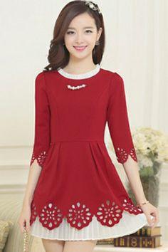 Fairy Cutout A-line Dress - OASAP.com