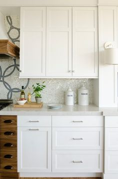 Silestone Lagoon Counters - Transitional - kitchen - Kitchen Cove Cabinetry and Design