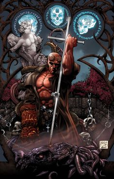 hellboy comics | ... call when no one else is picking up their phones...I'm the Hellboy