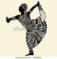 Latest Pictures 29 Ideas Dancing Drawings Watercolors For 2019 Tips Vandana Puthanveettil posseses an complex Passion: she is just a part-time solo dancer. Dance Paintings, Indian Art Paintings, Dancing Drawings, Art Drawings Sketches, Mandala Art Lesson, Silhouette Painting, Indian Folk Art, Madhubani Painting, India Art