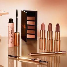 Makeup News, Nude Makeup, Charlotte Tilbury, Makeup Collection, Nudes, Lipstick, Beauty, Lipsticks, Beauty Illustration