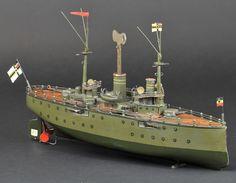 https://flic.kr/p/e3BbDG | 2012 Richard Claus collection - Marklin battleship HABICHT sold for $ 28,875