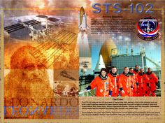 STS-102 Crew poster