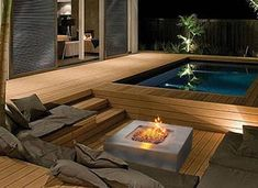garten Diy Decorations Diy Decorations – Keep up with the times. Hot Tub Backyard, Small Backyard Pools, Swimming Pools Backyard, Lap Pools, Indoor Pools, Backyard Patio Designs, Backyard Landscaping, Diy Patio, Kleiner Pool Design