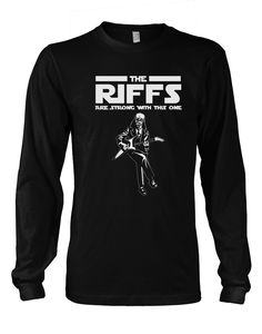 The Riffs Are Strong With This One - Electric  longsleeves
