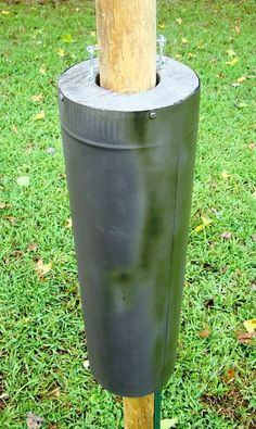 Bird Feeder Baffles And Bird House Pole Predator Guards - Deter Squirrels…