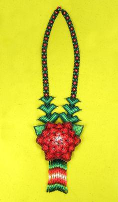 Huichol (Mexico) beaded necklace