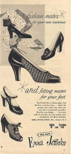 vintage fashion advertisements | Vintage Clothes/ Fashion Ads of the 1950s (Page 61)