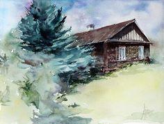 Cityscapes, Paintings For Sale, Lovers Art, Watercolors, Buy Art, Size 16, Landscape, Architecture, Paper