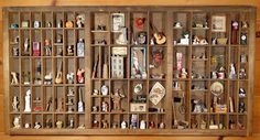 Type Tray full of Miniatures #1   This is one of Ann Maselli…   Flickr