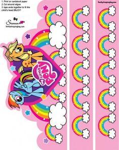 {free} printable My Little Pony Crown