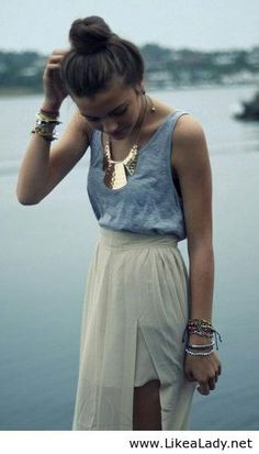 love this casual outfit . Summer outfits 2014 - LikeaLady.net