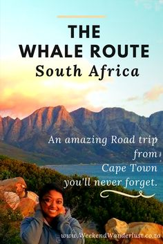 One of the best ways to see the Whales that visit South Africa is to take a road trip from Cape Town and drive along the Whale Route. You get to see the whales frolicking near the shore, and you get to experience the stunning views that this stretch of coastline has to offer.