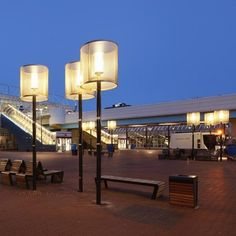 Lighting fixtures designed by ipv delft in Capelle a/d IJssel, the netherlands
