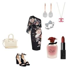 """Untitled #205"" by mary-rose-san-luis on Polyvore featuring Lipsy, Nasty Gal, Givenchy, Monica Vinader, Dolce&Gabbana, stories, miamore, micorazon, FeelingWitchy and charmedone"