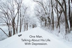 One Man. Talking About His Life. With Depression. A You Tube video by Dr. Margaret Rutherford