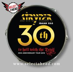 SIGNED - Stryper To Hell With The Devil 30th Anniversary