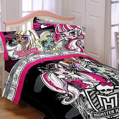 Merveilleux Monster High Bedding, Bedding Sets U0026 Bedroom Decor Monster High Bedding For  Kids Featured Here Is Monster High Bedding For Girls And Bu2026