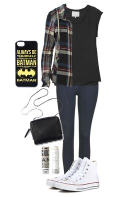 Stiles Stilinski Inspired Outfit by lili-c on Polyvore featuring AllSaints, 3.1 Phillip Lim, Topshop, Converse and Korres