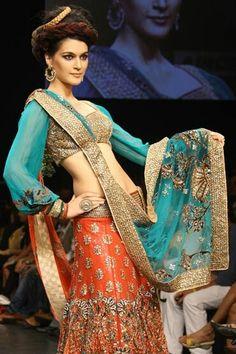 Nice dress nd beautiful colours........