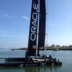 Guess who is about to sail in the SF Bay? #AC72 #oracleteamusa #relaunch #cupyear