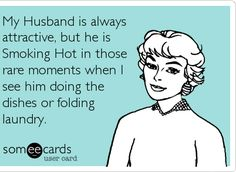 Husband Humor Ecard