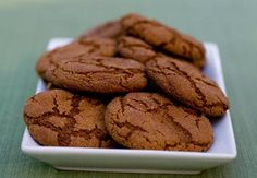 Molasses Spice Cookies - The recipe I always make. At high altitudes: extra tbs flour, a little less baking soda, a little less sugar. Cook at a slightly higher temp for 10 minutes, pull them when they still seem spongy in the middle. Cool on pan 5-7 minutes, then on rack.