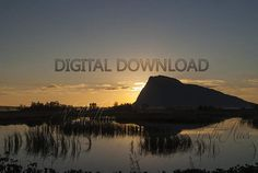 Hoven. Mountain Photo  Digital download