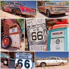 Travel Route 66 in its entirety.
