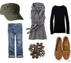 Fashion Challenge: Wear a Hat Military hat outfit Outfits With Hats, Fall Outfits, Summer Outfits, Casual Outfits, Cute Outfits, Casual Wear, Summer Clothes, Look Fashion, Autumn Fashion