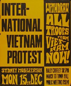 Vietnam Savaşı'na karşı Uluslararası protesto