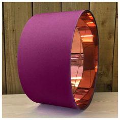 Mirror Copper & Plum Lampshade Lightshade Pendant Shade Various Sizes   Home, Furniture & DIY, Lighting, Lampshades & Lightshades   eBay!