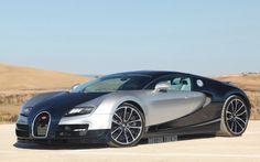 Bugatti Super Veyron illustration by Scott Olsen