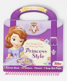 Take a look at this Sophia the First Activity Purse by Sofia the First on #zulily today!