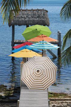 Parasol Beautiful Sea Coast Rock Forest Windproof Compact Umbrella Portable Sun Block Easy Carry