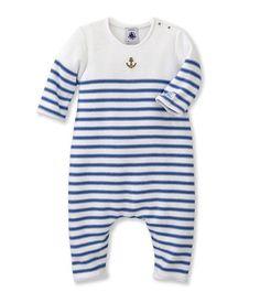 Combinaison longue bébé garçon en tricot