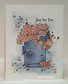 Blog-CQC-#295a-Sylvia - some SU - Birthday Blossoms, Butterfly Basics