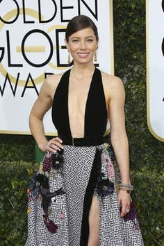 Jessica Biel and husband Justin Timberlake were the picture of Hollywood glamour at the Golden Globes, and we adored her sleek, braided updo. Celeb hair stylist Adir Abergel gave us the lowdown on DIY-ing this look for ourselves.