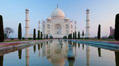 Webshots - Taj Mahal and Reflecting Pool, Uttar Pradesh, India