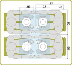 medidas mínimas para una mesa de 4 personas | Lagoa