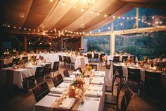 String fairy lights around your wedding reception for a magical and romantic feeling. Our fairy lights come in strings of Autumn Wedding, Fairy Lights, Perfect Wedding, Wedding Styles, Wedding Reception, Lanterns, Table Decorations, Festoon Lights, Wedding Planners