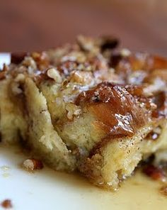 French Toast Casserole - I made this, delicious!! (added peaches)