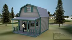 World's smallest house on wheels: Gypsy wagon - Simple Solar Homesteading A Frame Cabin Plans, Off Grid House, Backyard Sheds, Backyard Cabin, Cottage Plan, Building A Shed, Cabins And Cottages, Tiny House Design, Little Houses